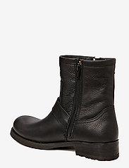 Billi Bi - BOOTS - WARM LINING - flate ankelstøvletter - black tomcat 80 - 1