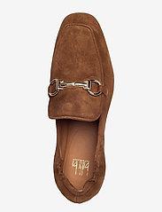 Billi Bi - Shoes 2514 - instappers - dark cognac suede 555 - 3