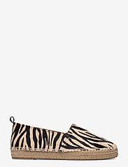 Billi Bi - Espadrilles 2663 - flade espadrillos - pony zebra 333 - 1