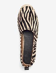 Billi Bi - Espadrilles 2663 - flade espadrillos - pony zebra 333 - 3