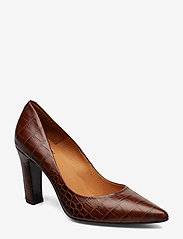 Billi Bi - Pumps 3333 - klassiset piikkikorkokengät - brown copico croco 46 - 0
