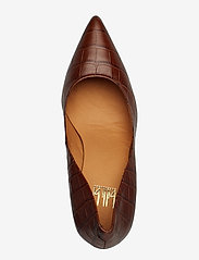 Billi Bi - Pumps 3333 - klassiset piikkikorkokengät - brown copico croco 46 - 3