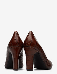 Billi Bi - Pumps 3333 - klassiset piikkikorkokengät - brown copico croco 46 - 4