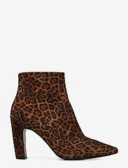 Billi Bi - Booties 3365 - ankelstøvler med hæl - cuoio leopardo suede 562 - 1