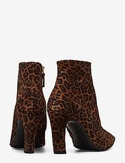 Billi Bi - Booties 3365 - ankelstøvler med hæl - cuoio leopardo suede 562 - 4