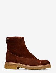 Billi Bi - Boots 3530 - flate ankelstøvletter - cognac 1614 suede 552 v - 1