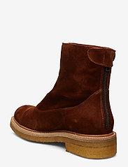 Billi Bi - Boots 3530 - flate ankelstøvletter - cognac 1614 suede 552 v - 2