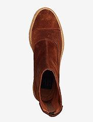 Billi Bi - Boots 3530 - flate ankelstøvletter - cognac 1614 suede 552 v - 3