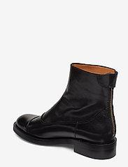 Billi Bi - Boots 3542 - platte enkellaarsjes - black baby buffalo 603 - 2