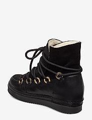 Billi Bi - Warm lining 3605 - flate ankelstøvletter - black tomcat/bl.suede/gold 850 - 2