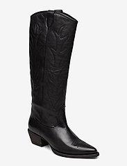 Billi Bi - Long Boots 3614 - pitkävartiset saappaat - black nappa 70 Å - 0