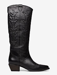 Billi Bi - Long Boots 3614 - pitkävartiset saappaat - black nappa 70 Å - 1