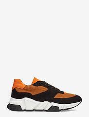 Billi Bi - Sport 3660 - chunky sneakers - black/orange comb.546 - 1