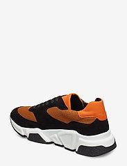 Billi Bi - Sport 3660 - chunky sneakers - black/orange comb.546 - 2