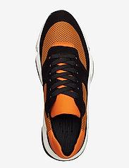Billi Bi - Sport 3660 - chunky sneakers - black/orange comb.546 - 3