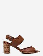 Billi Bi - ESPADRILLA - høyhælte sandaler - cognac 5144 buffalo 855 - 1
