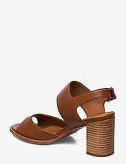 Billi Bi - ESPADRILLA - høyhælte sandaler - cognac 5144 buffalo 855 - 2
