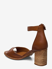 Billi Bi - SHOES - høyhælte sandaler - cognac 5144 buffalo 850 - 2