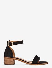 Billi Bi - Sandals 4182 - høyhælte sandaler - black babysilk suede 500 - 1