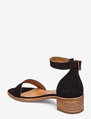 Billi Bi - Sandals 4182 - høyhælte sandaler - black babysilk suede 500 - 2