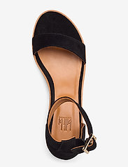 Billi Bi - Sandals 4182 - høyhælte sandaler - black babysilk suede 500 - 3