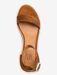 Billi Bi - Sandals 4182 - høyhælte sandaler - cognac 1613 babysilk suede 555 - 3