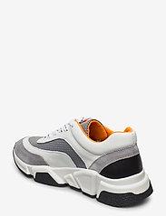 Billi Bi - Sport 4260 - chunky sneakers - grey/white/orange comb.537 - 2