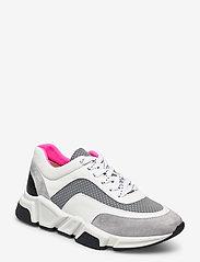 Billi Bi - Sport 4260 - chunky sneakers - grey/white/pink comb.539 - 0