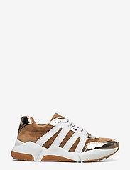 Billi Bi - Sport 4280 - sneakers med lav ankel - gold/beige/white comb.222 - 1