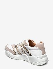 Billi Bi - Sport 4280 - sneakers med lav ankel - beige/white/beige snake 733 - 2