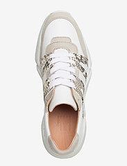 Billi Bi - Sport 4280 - sneakers med lav ankel - beige/white/beige snake 733 - 3