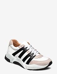 Billi Bi - Sport 4280 - sneakers med lav ankel - beige/white/black comb. 720 - 0
