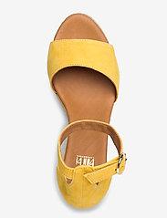 Billi Bi - Espadrilles 4332 - espadrilles med hæl - yellow 1795 suede 56 - 3