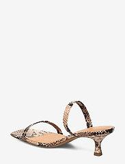 Billi Bi - Sandals 4480 - mules & slipins - beige 6071 snake 34 - 2