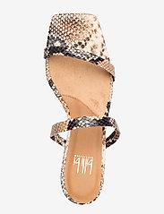 Billi Bi - Sandals 4480 - mules & slipins - beige 6071 snake 34 - 3