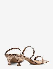 Billi Bi - Sandals 4480 - mules & slipins - beige 6071 snake 34 - 4