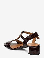Billi Bi - Sandals 4606 - høyhælte sandaler - coated leo 942 - 2