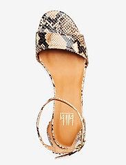 Billi Bi - Sandals 4607 - høyhælte sandaler - beige 6071 snake 34 p - 3