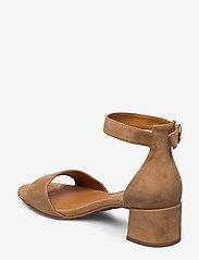 Billi Bi - Sandals 4607 - høyhælte sandaler - cuoio suede 55 - 2