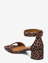 Billi Bi - Sandals 4607 - sandały na obcasie - leopardo suede 542 - 2