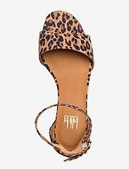 Billi Bi - Sandals 4607 - sandały na obcasie - leopardo suede 542 - 3
