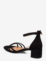 Billi Bi - Sandals 4608 - høyhælte sandaler - black suede 50 - 2