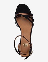 Billi Bi - Sandals 4608 - høyhælte sandaler - black suede 50 - 3