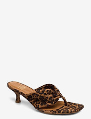 Billi Bi - Sandals 4614 - mules & slipins - jaguar cuoio suede 543 - 0