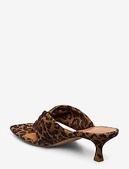 Billi Bi - Sandals 4614 - mules & slipins - jaguar cuoio suede 543 - 2