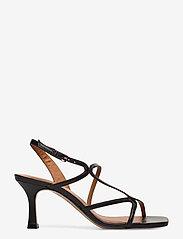 Billi Bi - Sandals 4622 - høyhælte sandaler - black nappa 70 - 1