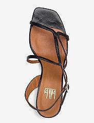 Billi Bi - Sandals 4622 - høyhælte sandaler - black nappa 70 - 3