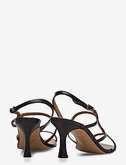 Billi Bi - Sandals 4622 - høyhælte sandaler - black nappa 70 - 4