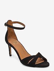 Billi Bi - Sandals 4628 - høyhælte sandaler - black suede 50 - 0