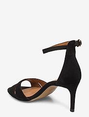 Billi Bi - Sandals 4628 - høyhælte sandaler - black suede 50 - 2